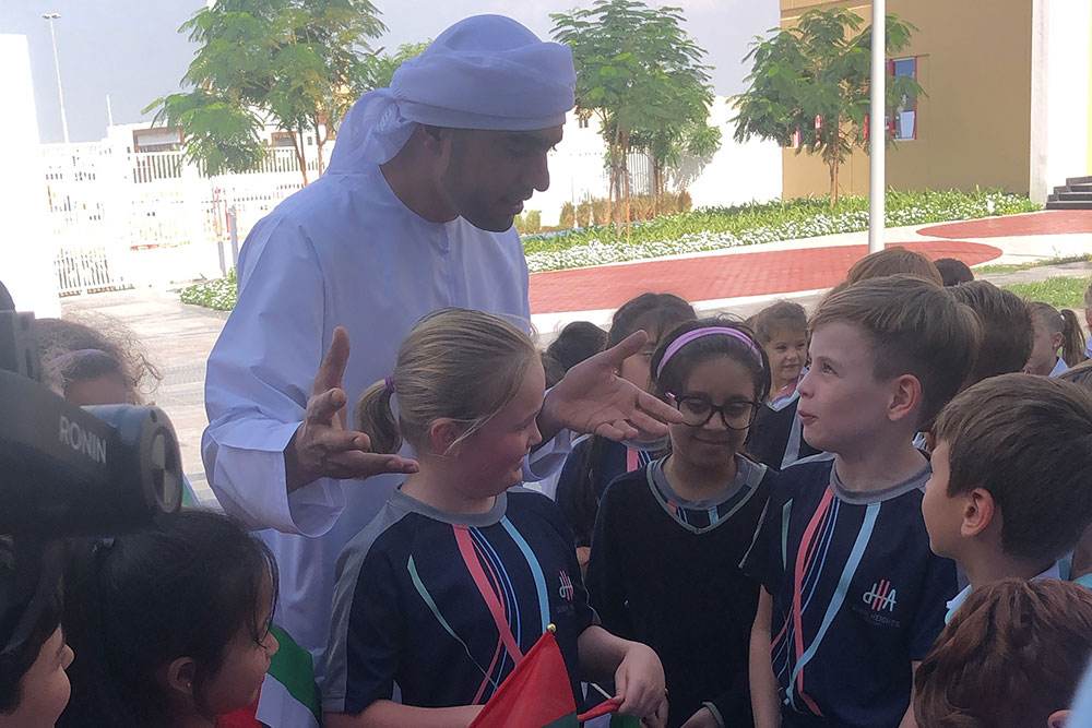 Pupils at Dubai Heights Academy mark 48th National Day with two days of traditional celebrations