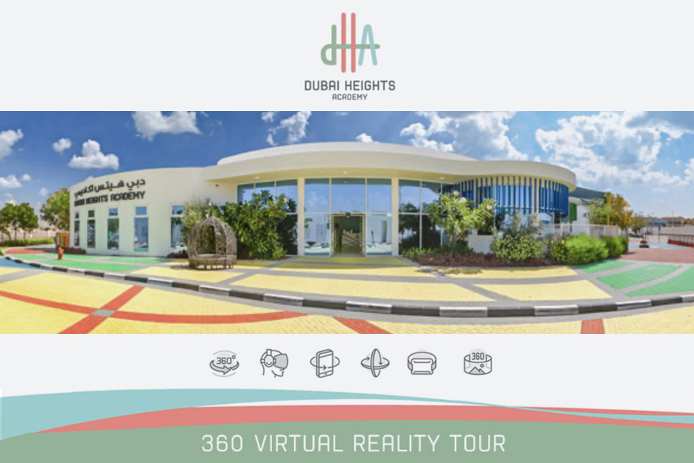 Dubai Heights Academy launches 360° virtual school tours