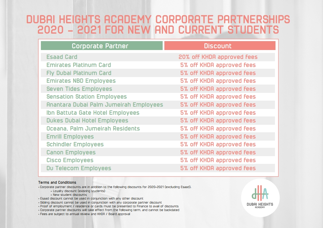 dha partnerships